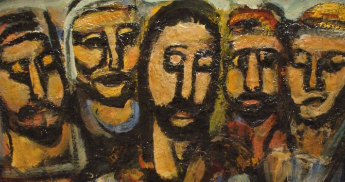 Georges-Rouault-Christ-and-Apostles-1937-38-detail