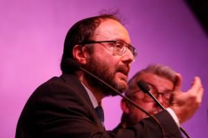 Le Grand Rabbin Kauffman, de la Synagogue des déportés, place des Vosges, est intervenu sur le thème du dialogue interreligieux :