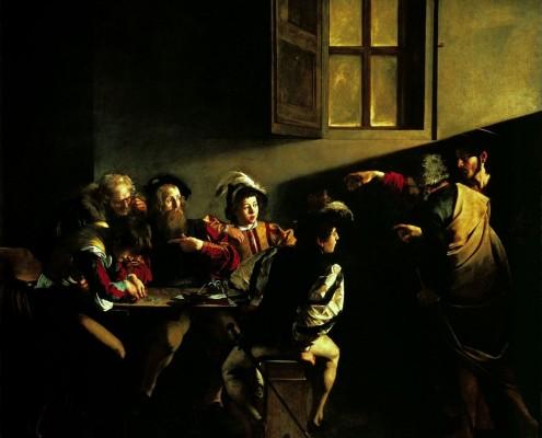 La Vocation de saint Matthieu (en italien Vocazione di san Matteo) de Caravage