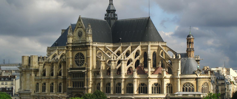 Saint-Eustache à Paris