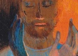 Arcabas - Christ, les pèlerins d'Emmaüs