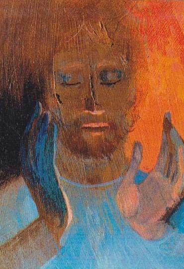 Arcabas - Les pèlerins d'Emmaüs