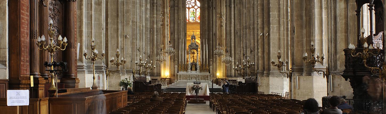 choeur de l'Eglise Saint Eustache